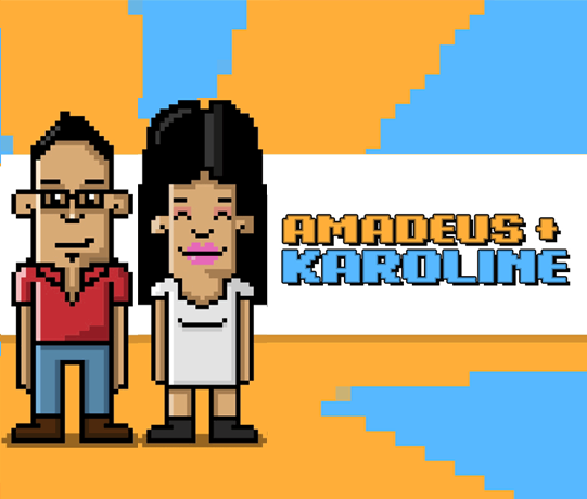 Amadeus + Karoline | Happily Ever Avatar