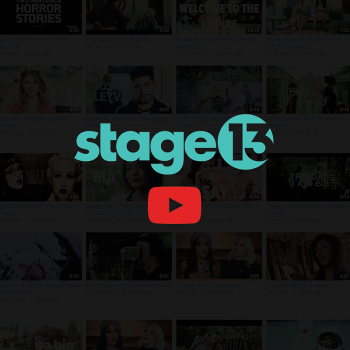 Subscribe to Stage 13 on Youtube