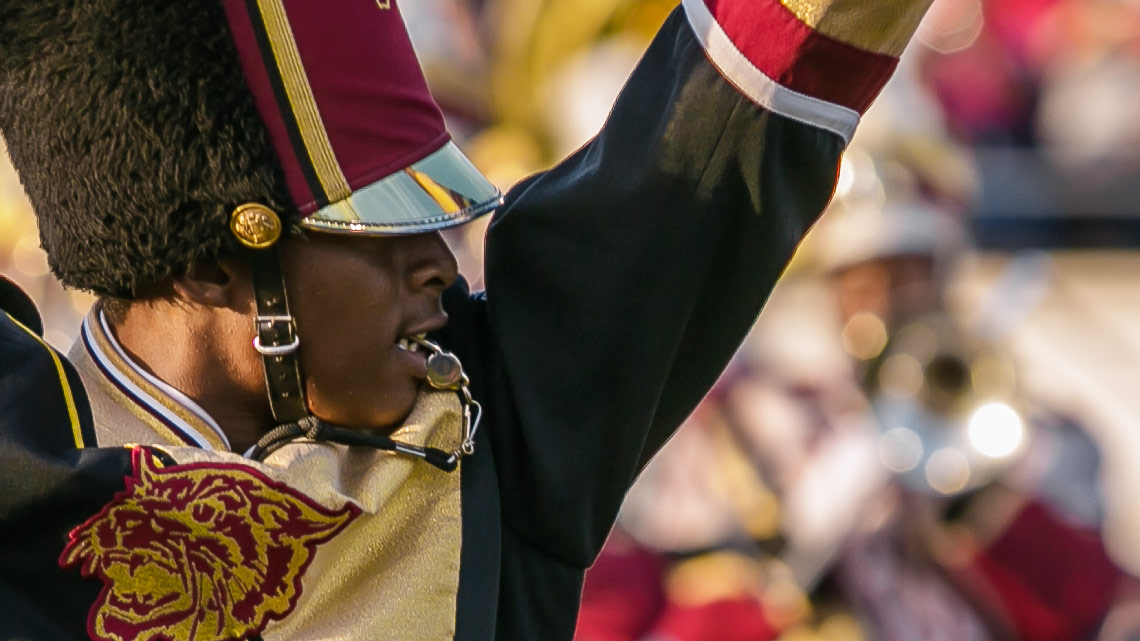 Drum Major, Bernaldi, Bethune-Cookman University, BCU, Marching Wildcats, Marching Orders, Stage 13 Original, stage13network