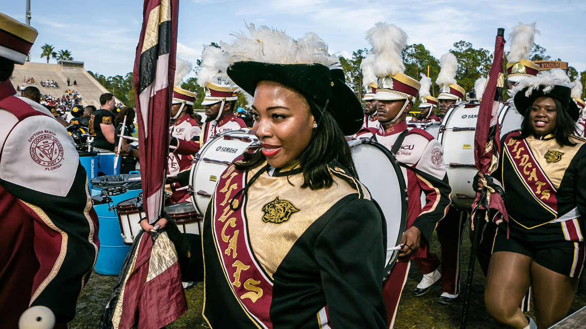 Sophisticats, Flag Corp, Bethune-Cookman University, BCU, Marching Wildcats, Marching Orders, Stage 13 Original, stage13network