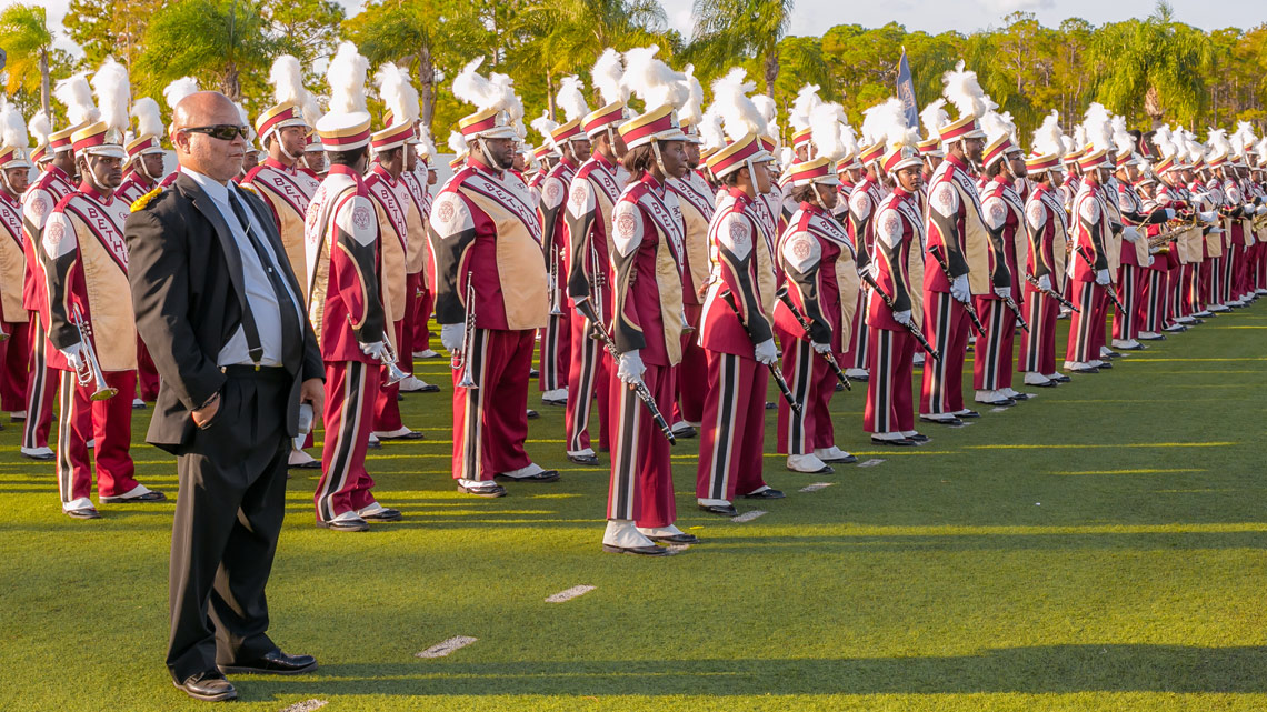 Bethune-Cookman University, BCU, Marching Wildcats, Formation, Field, Marching Orders, Stage 13 Original, stage13network