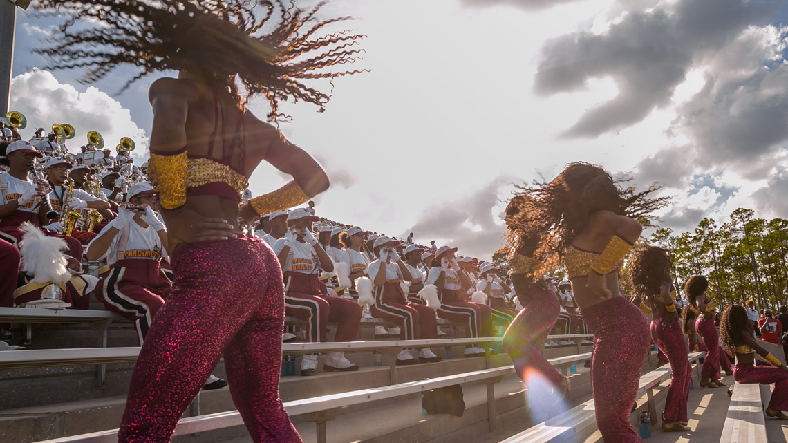 14K Dancers, Wow The Crowd, Perform In Stands, Bethune-Cookman University, BCU, Marching Wildcats, Marching Orders, Stage 13 Original, stage13network