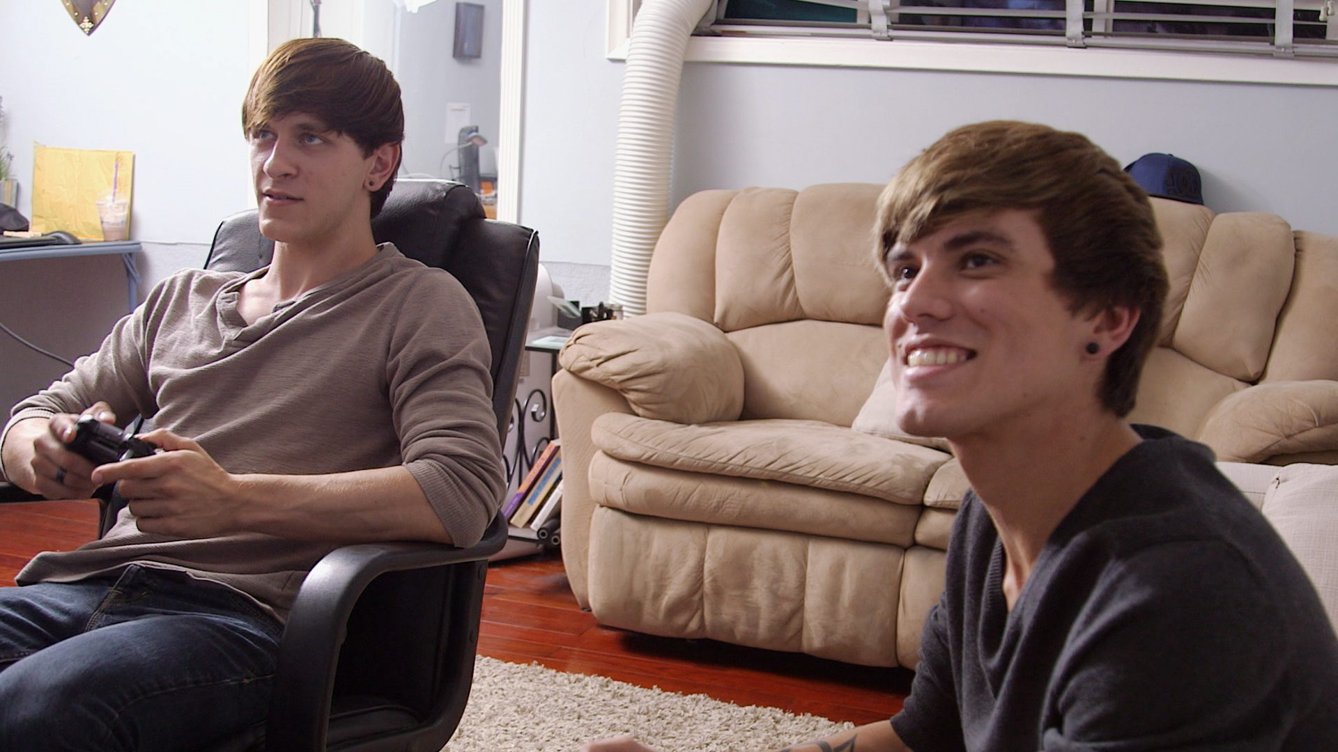 Nick, Tony, Playing Video Games, Happily Ever Avatar, Stage 13 Original, stage13network