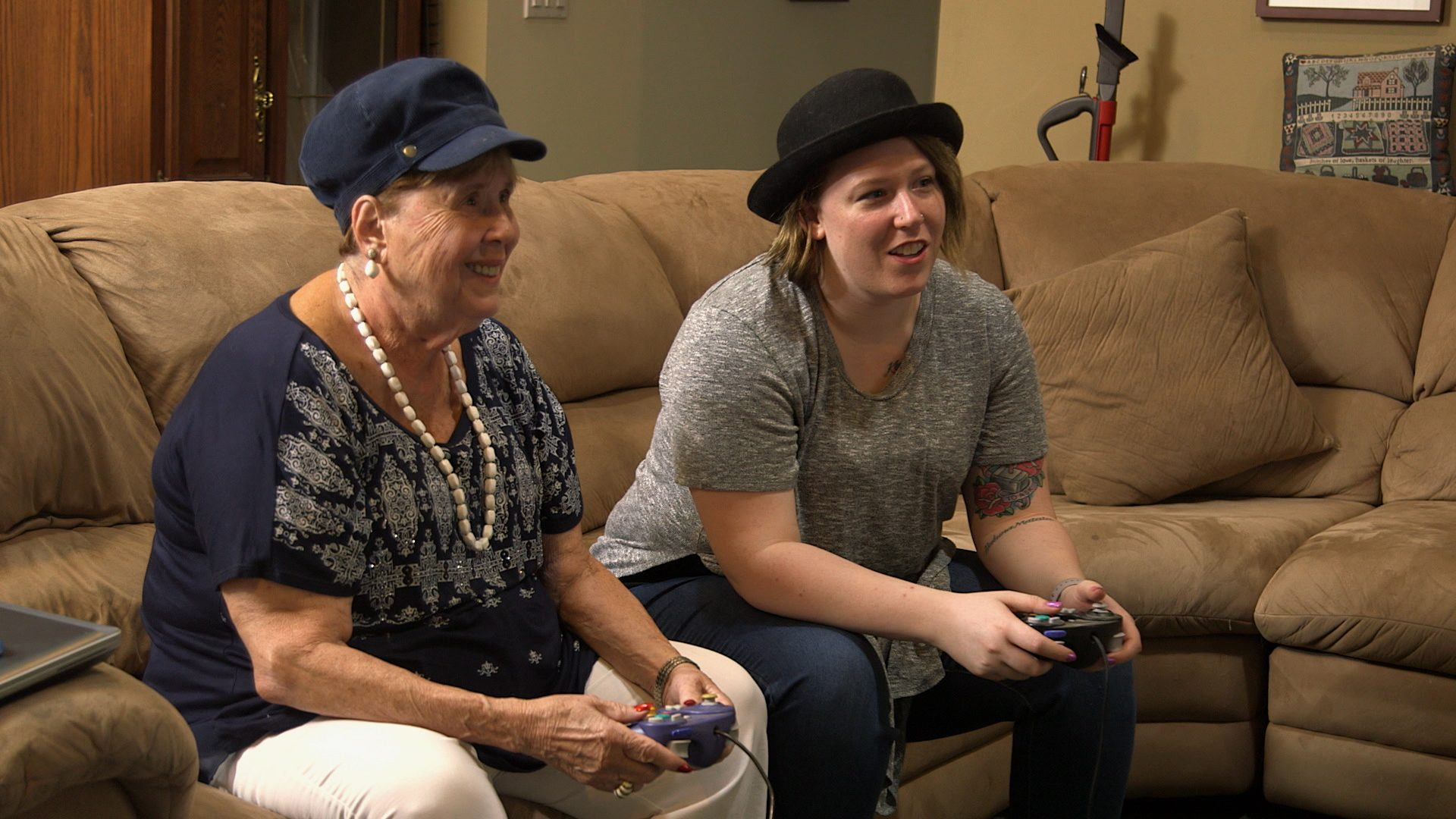 Chelsea, Grandma, Playing Video Games, Happily Ever Avatar, Stage 13 Original, stage13network