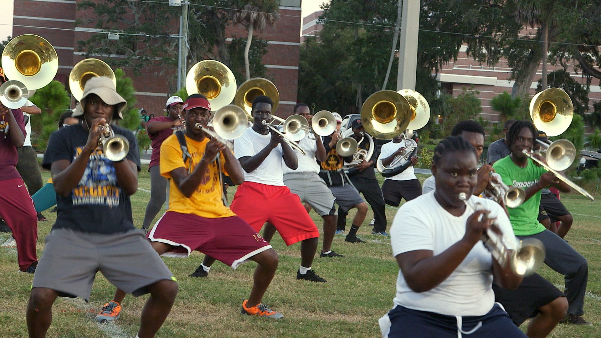 Band Practice, Field, Bethune-Cookman University, BCU, Marching Wildcats, Marching Orders, Stage 13 Original, stage13network