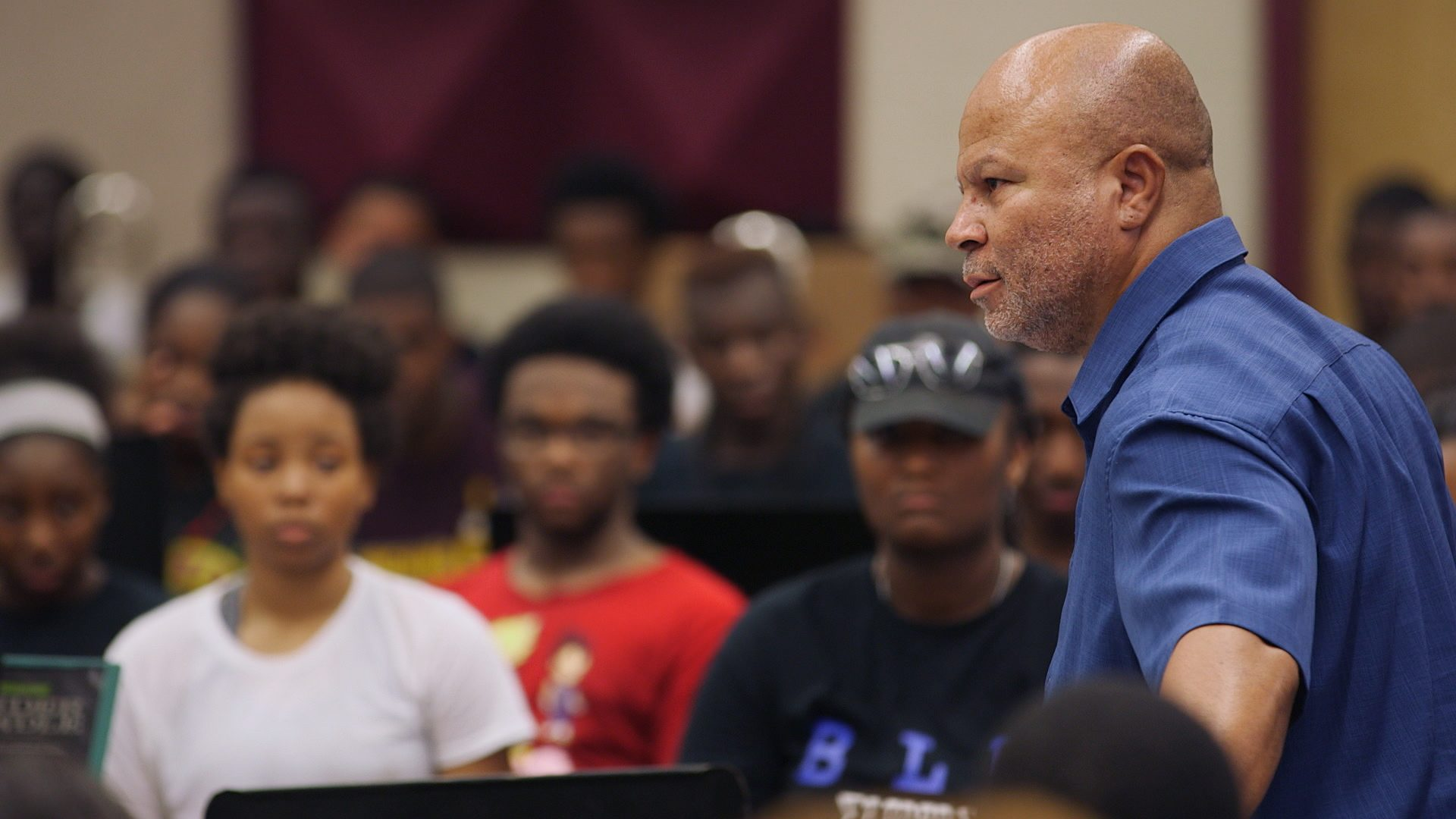 Band Leader, Director, Donovan Wells, Pracice, Rehearsal, Bethune-Cookman University, BCU, Marching Wildcats, Marching Orders, Stage 13 Original, stage13network