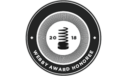 2018 Webby Award Honore
