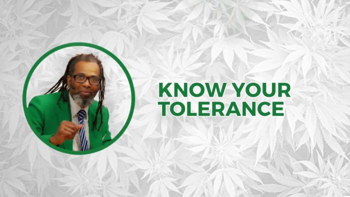 Know Your Tolerance | Cooking On High