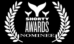 Shorty Awards Nominee