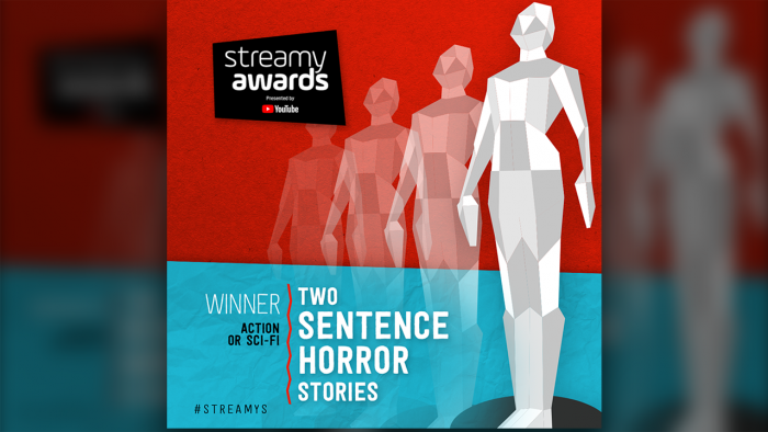 2SHS Grabs Streamy Award