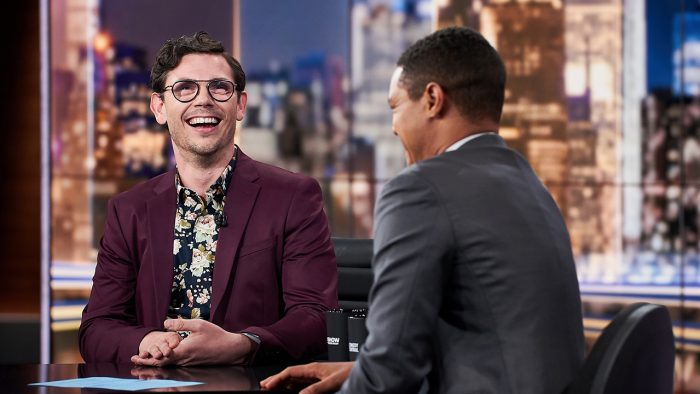 Special Star Ryan O'Connell Chats with Trevor Noah on The Daily Show