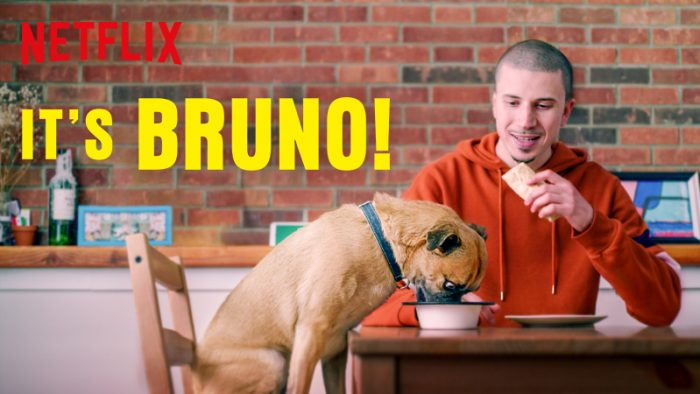 Pup-Up Gallery Launch Pawty Featuring It's Bruno!