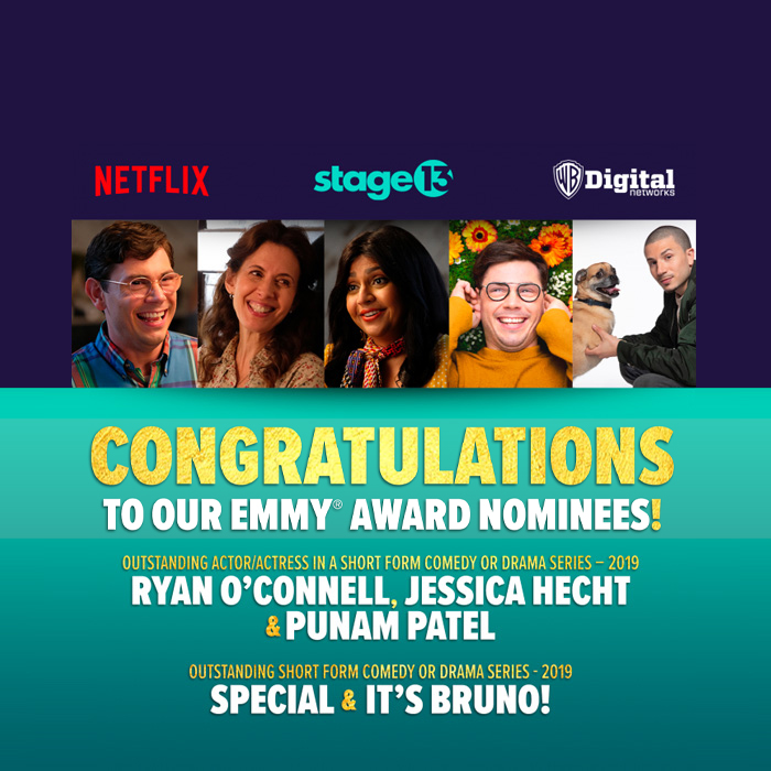 Stage 13 / Netflix Shows Grab Five Emmy® Nominations!