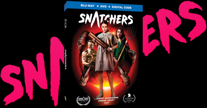 'Snatchers' Available on Digital January 7, on Blu-ray™️ Combo Pack, and DVD February 18