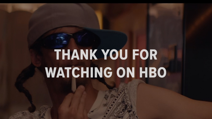 Thank you for Watching on HBO!