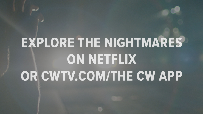Two Sentence Horror Stories EXplore the nightmares on Netflix  or cwtv.com/THE CW APP