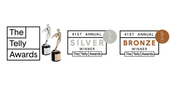 Stage 13 wins 4 Telly Awards!