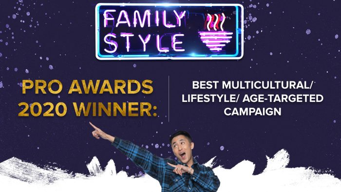 """Family Style"" Wins Gold at the 2020 Pro Awards!"